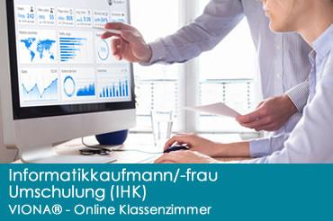 Informatikkaufmann – Informatikkauffrau – Umschulung (IHK)
